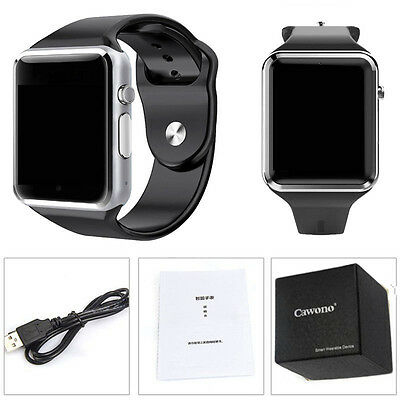 5 Color A1 Bluetooth Wrist Smart Watch For Android Samsung iOS iPhone SIM TF Cam