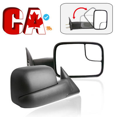 Tow Side Mirrors Pair for 02-08 Dodge RAM 1500 03-09 2500 3500 Power Heated