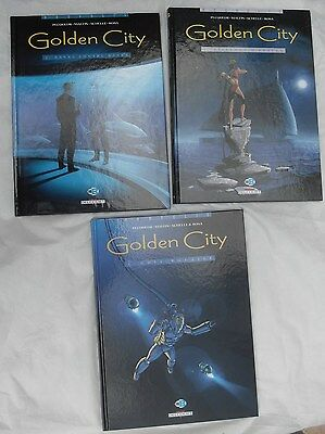 LOT Golden City coffret 3 BD T1/2/3 édition 2001  neuf