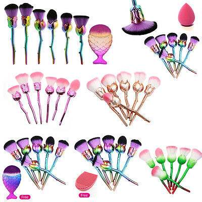Professionale Pennelli Trucco Make up Brush Foundation Face Powder Lip Brushes