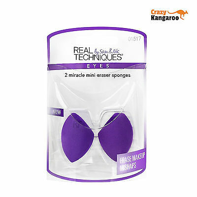 Real Techniques Original Miracle Mini Eraser Sponge (1517) - Free Delivery
