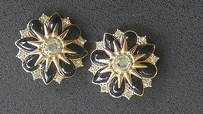 Lindsay Phillips Interchangeable Snaps, Franny - black and gold