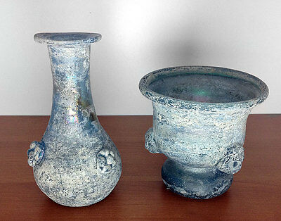 Two Cenedese Murano Glass Scarco Vases