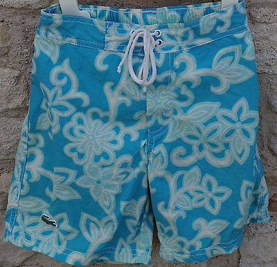 Lacoste Boys Blue Swimming Swim Shorts AGE 4 YEARS AUTHENTIC