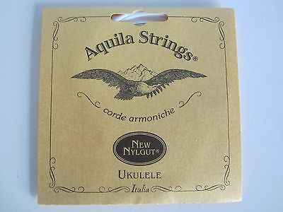 Aquila New Nylgut Tenor Ukulele Strings Low G tuning code 15U