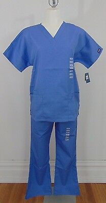 Authentic Nwt Cherokee Blue Women's Scrubs Size Xs        (A7706)