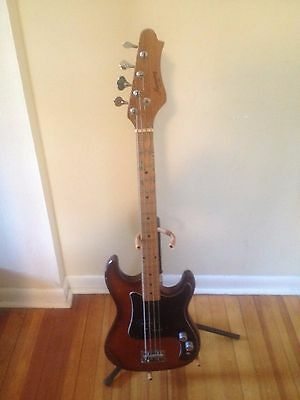 Vintage Harmony Electric Bass Guitar