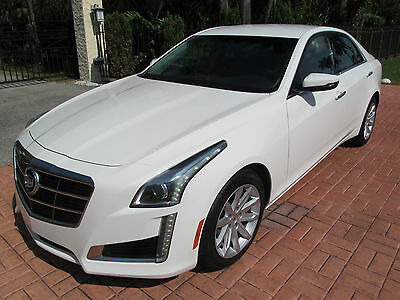 2014 Cadillac CTS Base Sedan 4-Door 2014 Cadillac CTS * Heated/Cooled Seats * Bargain * Florida