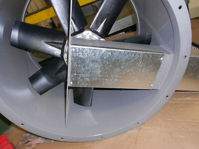"""24"""" Dia Tube Axial Exhaust Fan For Paint Spray Booth"""