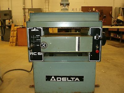 """Delta RC51 20"""" Planer - 5HP (Woodworking Machinery)"""