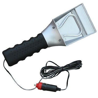 Car Heated Auto Electric Windshield Ice Scraper Snow Shovel Melter Removal Tool