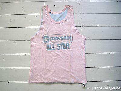 NOS 90s CONVERSE ALL STAR REVERSIBLE Box Tank Top Shirt True Vintage Cons Gay