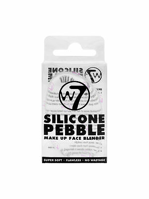 W7 Silicone Pebble Make Up Face Blender Applicator