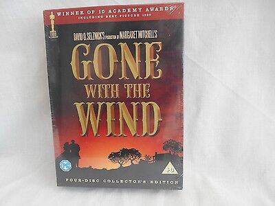 New Sealed Gone With The Wind Four Disc Collectors Edition Dvd Clark Gable R2