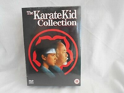 New Sealed The Karate Kid Collection 1 2 3 Trilogy Dvd Box Reg 2 Macchio Action