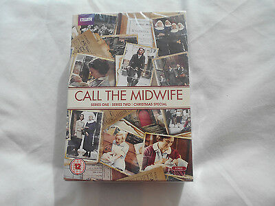 New Sealed Call The Midwife Series One Two 1-2 Xmas Special Dvd Box R2 4 Medical