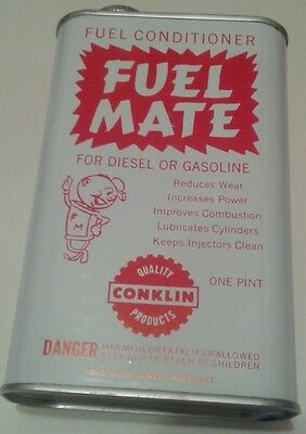 FUEL MATE  FUEL CONDITIONER  FOR DIESEL OR GASOLINE,1 pint, CONKLIN CO INC