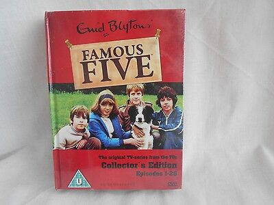 New Sealed Enid Blytons Famous Five Collectors Edition 1-26 Dvd Box Adventure R2
