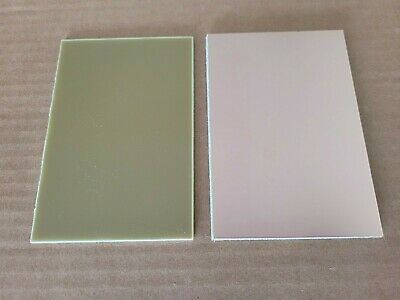 6 pcs. Copper clad circuit board laminate FR-4, 1 oz. single sided .060, 4x6