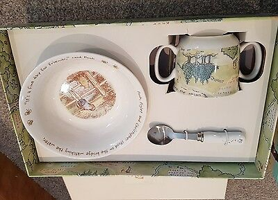 Winnie the pooh bowl, cup & spoon set