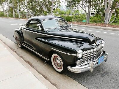 1948 Dodge Other 2 Door Business Coupe 1948 Dodge Coupe Business Coupe 55682 Miles Black  6 CYL Manual