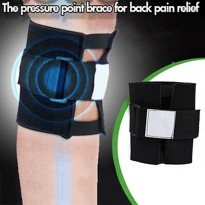 Point Back Pain Relief Acupressure Sciatic Nerve Leg Knee Brace Support Peachy