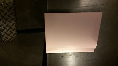 Copper Clad Laminate Board  6 pcs  4x6  FR-4, .060, 1 oz. double sided