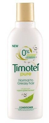 3 x 200ml Timotei Pure Conditioner - Normal to Greasy Hair