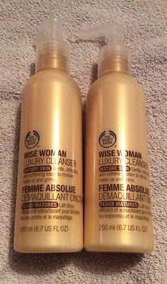 The Body Shop Wise Woman Luxury Cleanser Mature Skin Bundle 200ml