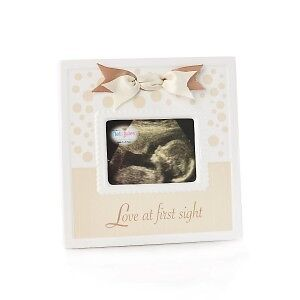 "Sonogram Frame ""Love at First Sight"" by Nat & Jules - N00436"