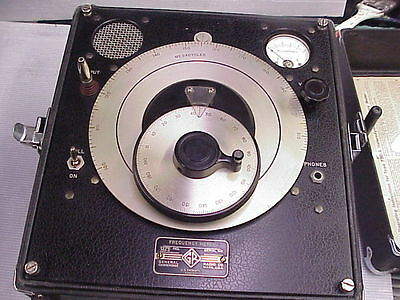 General Radio Co. Frequency Meter Model 720-A