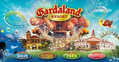Buono Coupon Sconto Gardaland Ticket 2X1 - 1 Paga 1 Entra Gratis