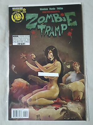 Zombie Tramp vol. 3 # 1 ACTION LAB Cover B Risque Variant NM First Print RARE
