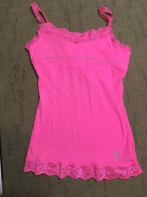 Girls Justice Tank Top, Pink, Size 10