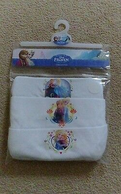 BNWT Girls Frozen Vests 18-24 months 1-2 years NEW Pack of 3