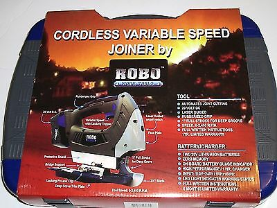 Robo Tools Cordless Concrete Joiner Tool Kit Soft Cut