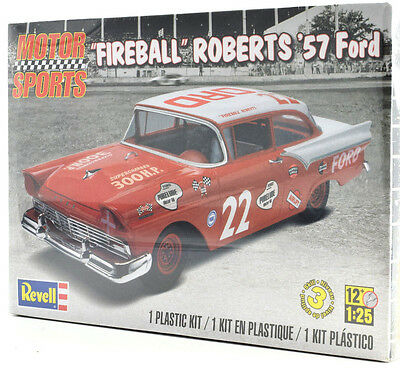 "Revell ""Purelube"" Fireball Roberts '57 Ford 1/24 Plastic Model Car Kit 85-4024"