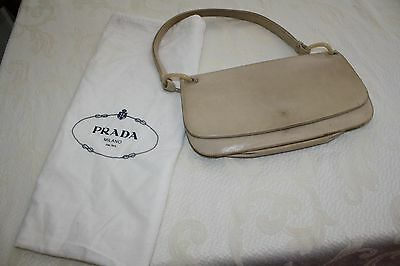 fe0a927a7e8fdd PRADA BLACK SAFFIANO LUX Leather Shoulder Bag Tote Br4903 - $750.00 ...