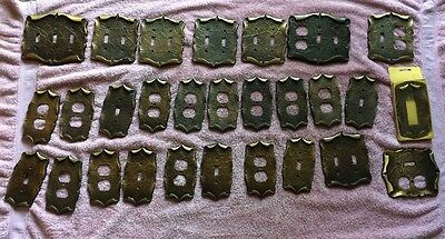 Amerock Carriage House Switch & Outlet Covers Lot Of 28 Single Double Triple
