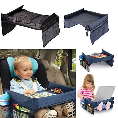 Portable Child Snack Play Tray Table for Car Seat Plane and Buggy Toddler Travel