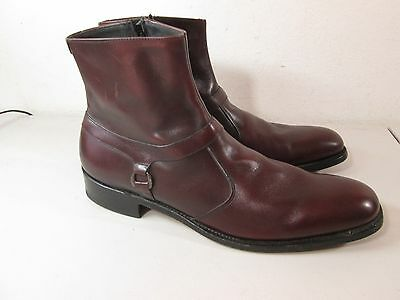 E.T. WRIGHT MENS LEATHER  DRESS BOOTS SHOES SIZE 13AAA  MADE IN USA  Excellent