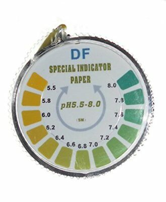 pH Indicator Litmus Test Paper Strip Roll, 5.5 - 8 For Water Urine And Saliva -