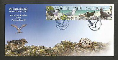 Pitcairn Islands 2007 Endangered Species Fdc Sg,724-727 Lot 4501A