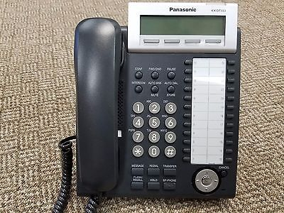 Panasonic KX-DT333-B Digital Display Business Office Phone (LOT OF 7)