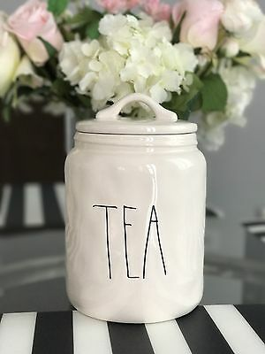 Rae Dunn TEA Canister Jar Artisan Collection By Magenta Brand New