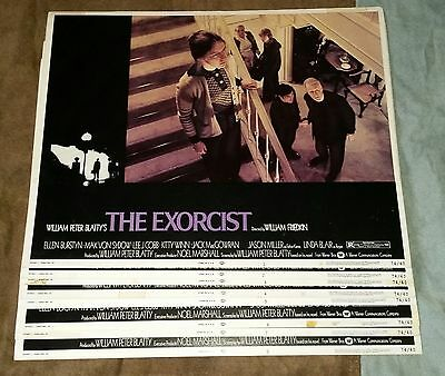 """1974 """"THE EXORCIST"""" Orig. U.S. Complete 11 X 14 In. LOBBY CARD SET"""