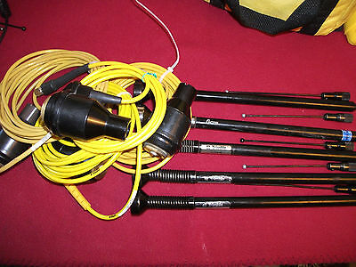 1 Trimble GPS/Pacific Crest Radio whip Antenna W/Connector & Cable Topcon Leica