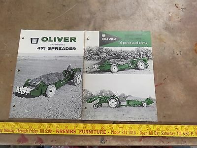 2 Oliver 471 Ground- Drive & Power-Drive Spreaders Brochure