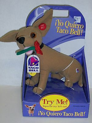 Taco bell dog  In box - 12 inch