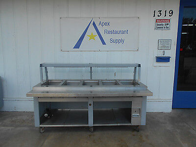 Servolift PHF-5 5 Well Electric Hot Food Table/Steam Table # 2324